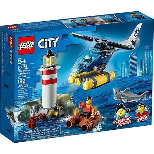 樂高積木 LEGO《 LT60274 》City 城市系列 - Elite Police Lighthouse Capture / JOYBUS玩具百貨