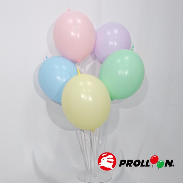 【大倫氣球】12吋馬卡龍色 圓形連接氣球 針球 單顆 LINKING BALLOONS ,PARTY派對、會場佈置