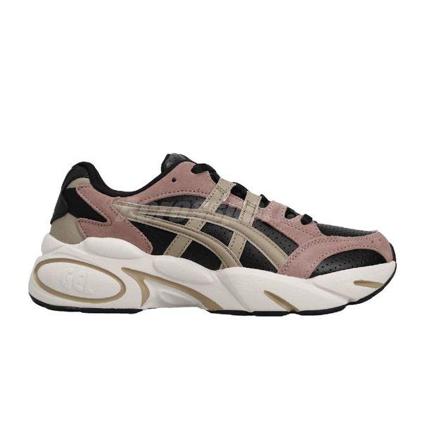 Asics 休閒鞋 Tiger Gel-BND 粉紅 黑 卡其 米白 復古慢跑鞋 女鞋 【PUMP306】 1022A192001