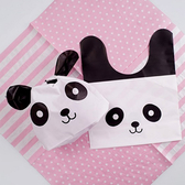 【BlueCat】耳朵打結熊貓糖果袋 禮物袋 包裝袋
