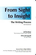二手書博民逛書店 《From Sight to Insight: The Writing Process》 R2Y ISBN:0155010999│Harcourt College Pub