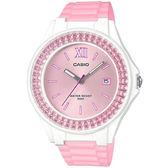 CASIO 卡西歐 手錶專賣店 LX-500H-4E5 氣質鑲鑽指針女錶 防水50米 日期顯示 LX-500H