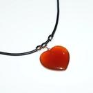 【喨喨飾品】紅瑪瑙 ❤ 墜子 象徵友善的愛心和希望 S394