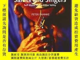 二手書博民逛書店Saints罕見And Singers: Sufi Music
