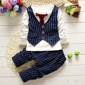 中大尺碼男童套裝 童裝男童秋裝套裝0-1-2一3-4歲嬰兒兒童秋季 nm12925【甜心小妮童裝】