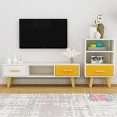 電視櫃 北歐電視櫃簡約現代客廳臥室小戶型電視櫃組合家具簡易電視機櫃T 6色