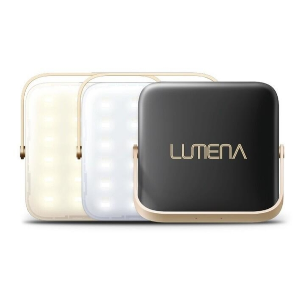 『VENUM旗艦店』NEW N9 LUMENA 行動電源LED照明燈-三色溫 小N9露營燈/充電 星空黑 BSMI商檢認證字號 R55109