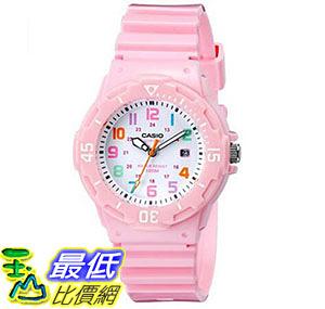[美國直購] 手錶 Casio Womens LRW-200H-4B2VCF Pink Stainless Steel Watch with Resin Band