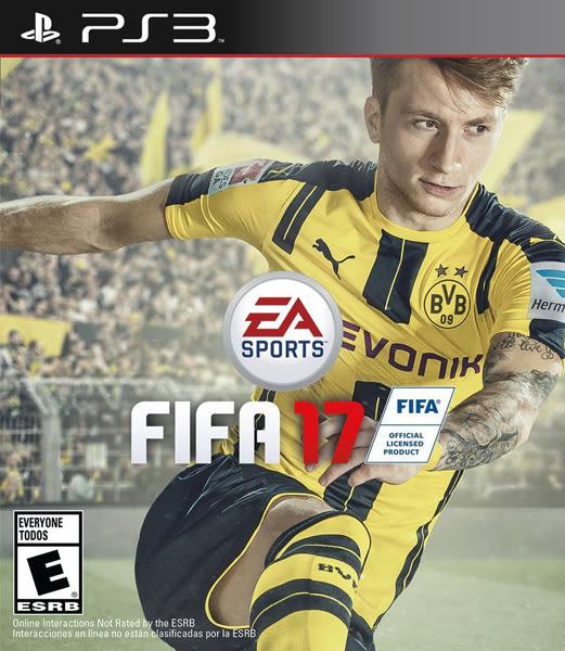 PS3 FIFA 17 國際足盟大賽 17(美版代購)