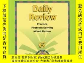二手書博民逛書店Sbg罕見Math Daily Review Pe Gr 6Y2