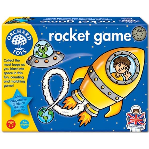【英國 Orchard Toys】兒童桌遊-數學加減 火箭衝衝衝 OT-029
