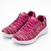 SKECHERS (女) 健走系列 GO WALK JOY  (條紋紅) 運動鞋 健走鞋 15614PKMT【 胖媛的店 】