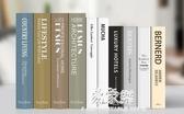 飾品擺件禮物假書裝飾書仿真書擺件簡約新中式歐式北歐風格書本書櫃裝飾品道具(快速出貨)