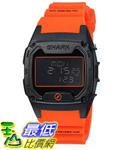 [106美國直購] Freestyle 手錶 Men s Shark B01LY94KWZ Quartz Plastic Silicone Sport Watch Color:Orange (Model: 10026931)