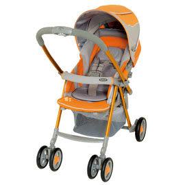 【狂降出清】Combi 康貝Urban Walker UR-350R Sporty 歐風城市休旅雙向手推車-活力橘【佳兒園婦幼館】
