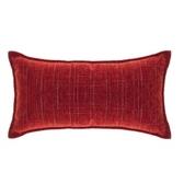 香奈兒絨棉腰靠枕 30x60cm 紅色款
