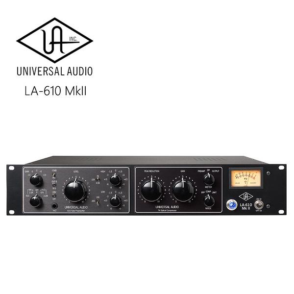 UNIVERSAL AUDIO LA-610 MkII 經典電子管麥克風前置放大器
