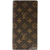 【Louis Vuitton 路易威登】M66540 經典LV花紋對開拉鍊長夾