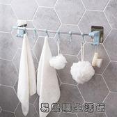 粘貼毛巾掛鉤浴室免打孔毛巾架 易樂購生活館