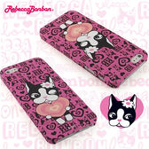 【Rebecca Bonbon】 iPhone 5 時尚彩繪保護殼-優雅甜心◆送很大!專用型螢幕保護貼◆