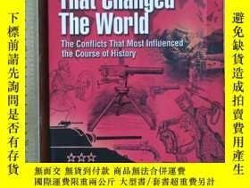 二手書博民逛書店50罕見battles that changed the world the conflicts that mos
