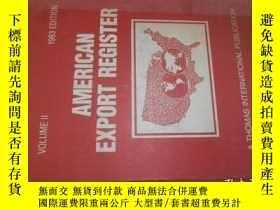 二手書博民逛書店American罕見Export Register 美國出口註冊