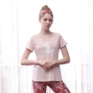 *╮寶琦華Bourdance╭*專業瑜珈韻律芭蕾*短袖上衣(無內裡)【Y21163】