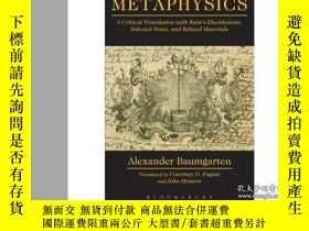 二手書博民逛書店Metaphysics:罕見A Critical Translation with K...-形而上學:一個與K。