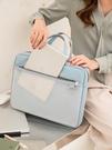 公文包 韓版女士公文包手提A4文件袋大容量資料收納包簡約拎書袋電腦包包 麥琪
