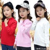 女童毛衣新款兒童加厚線衣秋冬裝寶寶打底衫保暖外套頭針織衫