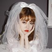 韓式新娘頭紗