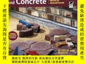 二手書博民逛書店Ultimate罕見Guide to Masonry and Concrete: Design(英文原版)Y1