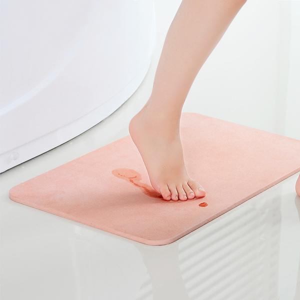 [現貨] 硅藻土地墊 (69x39cm) 珪藻土地墊 高品質吸水地墊 浴室墊 防滑墊《限宅配》