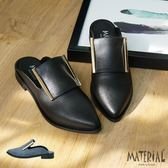 包鞋 金屬飾後空尖頭包鞋 MA女鞋 T2030
