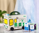 熊孩子木質家用醫藥箱急救箱寶寶兒童藥品收納盒出診醫療箱小藥箱