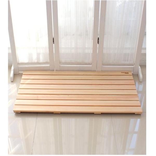 實木腳踏板 浴室地墊防滑板 衛生間廚房墊腳板陽台增高架戶外防腐 樂活生活館