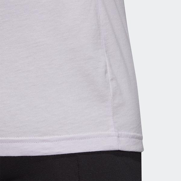 【現貨】Adidas MUST HAVES BADGE 女裝 短袖 休閒 修身 純棉 淡紫【運動世界】FQ3240