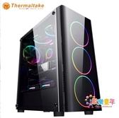 主機箱 電腦台式機水冷機箱主機側透大簡約防塵板組裝外殼T 1色
