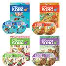 【麥克書店】JY PHONICS SONG #1~4/ BK+DVD+CD ●四本合購●  ※暢銷之最※