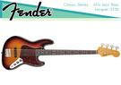 【小麥老師 樂器館】FENDER CLASSIC ''60S JAZZ BASS LACQUER