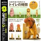 全套4款【日本正版】佐藤邦雄的動物們 廁所篇 扭蛋 轉蛋 膠囊Q博物館 海洋堂 KAIYODO - 083128