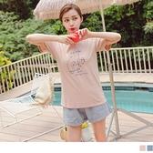《AB15981》台灣製造.高含棉貓咪印花T恤 OrangeBear