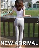 天天新品SLIMMO秋冬高腰緊身運動褲女跑步顯瘦提臀速干透氣瑜伽褲健身長褲