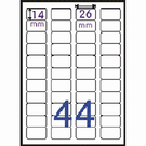 Herwood 鶴屋牌 A6超黏空白標籤 14x26mm