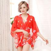 和服角色扮演服  cosplay  日式和服性感睡衣 (高檔品質)  ~紅1753