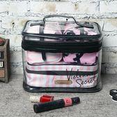 化妝包 化妝包大容量多功能簡約便攜手提袋防水女 瑪麗蘇精品鞋包