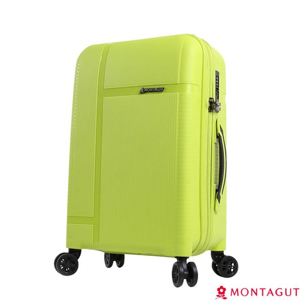 行李箱硬殼旅行箱 夢特嬌 24吋森林系硬殼行李箱