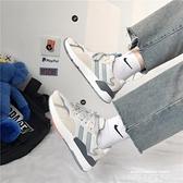 運動鞋 chic運動鞋女ins百搭潮鞋子2021冬季新款韓版原宿皮面學生跑步鞋 萊俐亞