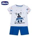 chicco- 休閒-法鬥犬短袖套裝