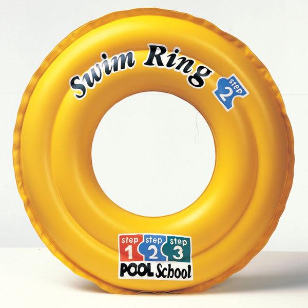 [衣林時尚] INTEX 20吋 彩印泳圈 游泳圈 (3-6歲) 58231 + 沙灘球(隨機出)